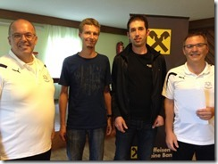 Teambewerb Ortsmeister: K�llinger Andreas, Marco Gattringer