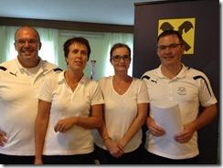 Teambewerb Orstmeisterinnen: Monja Leutgeb, Brigitte Rechberger