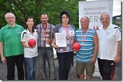 Bezirks-Kegelmeisterschaften mit Teilnehmerrekord