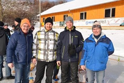Ortsmeister Kegelprinzen: Riegler Martin, Frandl Andreas, Krahofer Bernhard, Riegler Josef